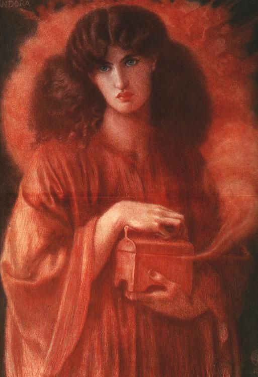 Dante Gabriel Rossetti Pandora Germany oil painting art
